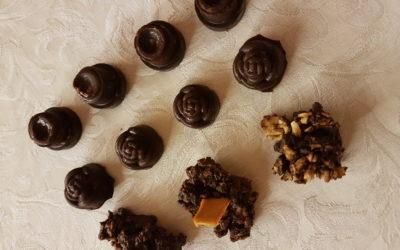 Herstellung von Schokolade und Pralinen